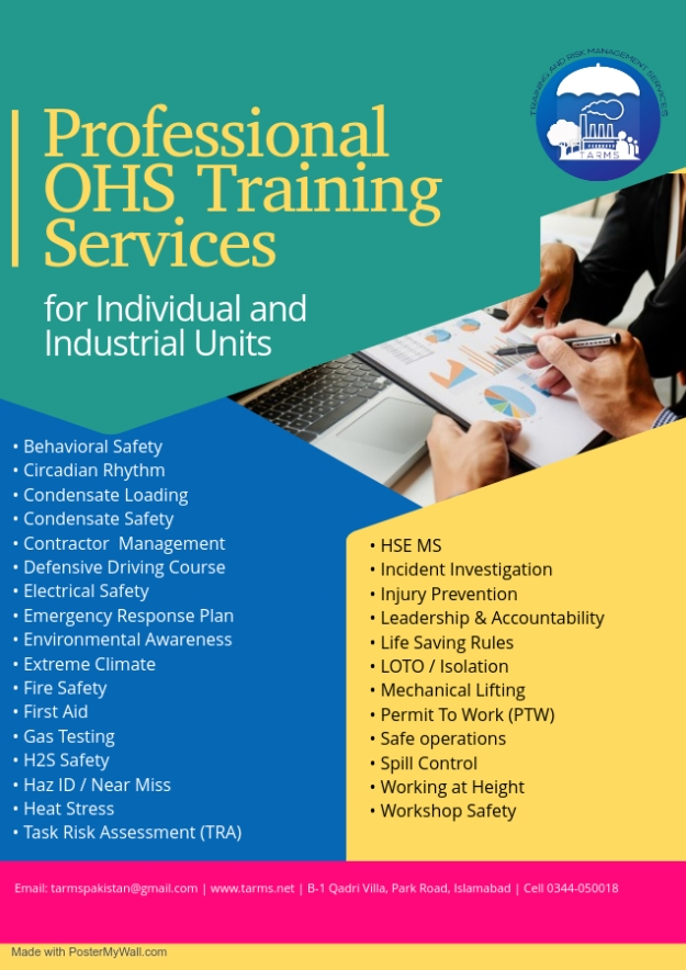 Professional OHS Training Services